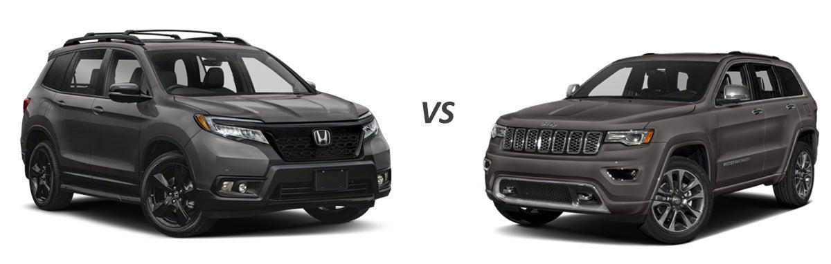 Gunn Honda Service >> 2019 Honda Passport vs. 2019 Jeep Grand Cherokee